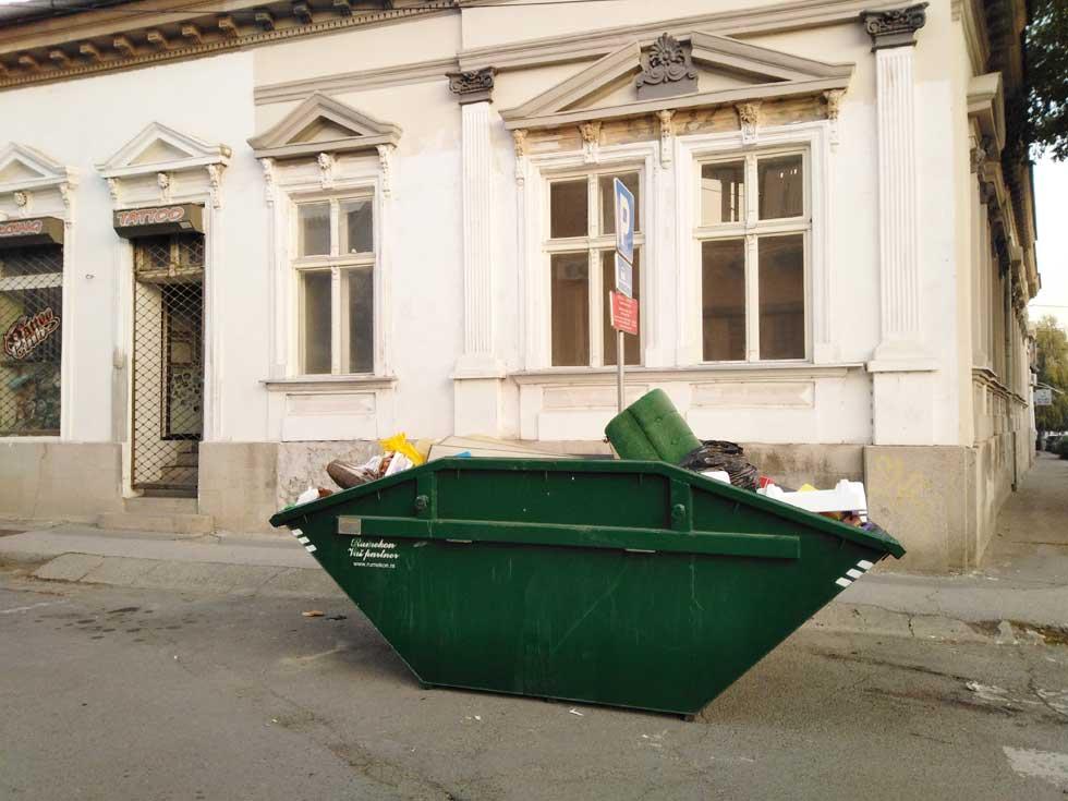 kontejner kabasti otpad
