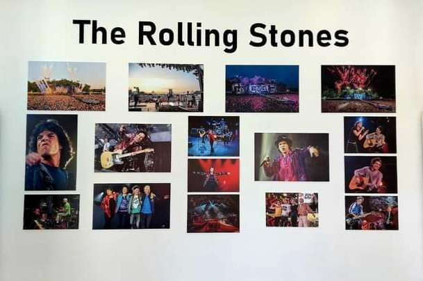 deo izložbe thre rolling stones