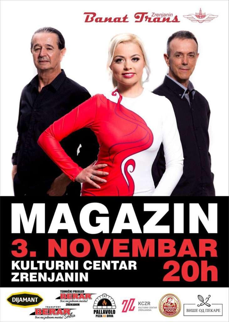 koncert grupe magazin plakat s