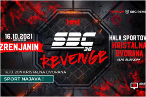 sbc 36 revenge zrenjanin najava